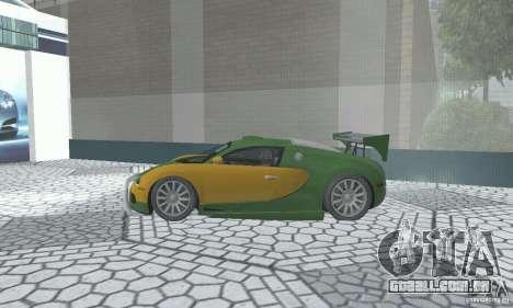 Bugatti Veyron 2005 para GTA San Andreas vista direita