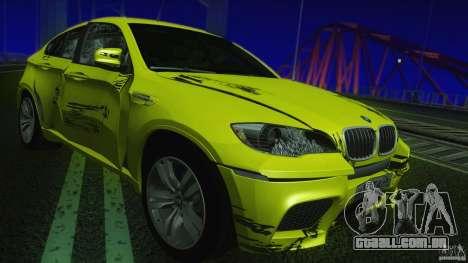 BMW X6M E71 v2 para vista lateral GTA San Andreas