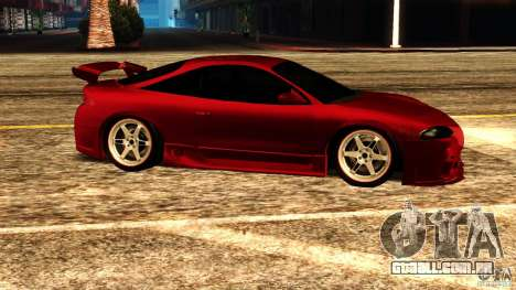 Mitsubishi Eclipse 1998 para GTA San Andreas esquerda vista