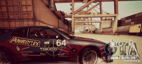 Tokyo Drift map para GTA San Andreas por diante tela
