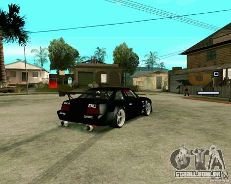Hotring Racer Tuned para GTA San Andreas traseira esquerda vista