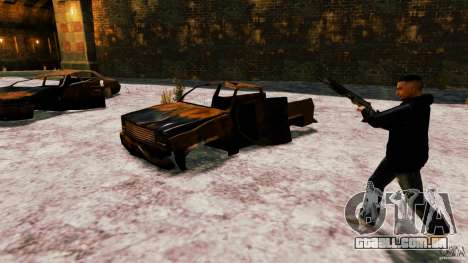 Marshall de Crysis 2 para GTA 4 quinto tela