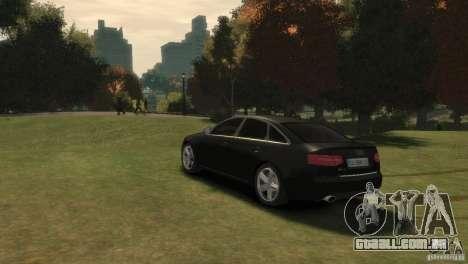 Audi RS6 v.1.1 para GTA 4 esquerda vista