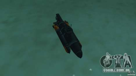 Seehund Midget Submarine skin 2 para GTA Vice City vista interior