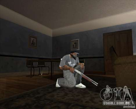 Jarra Mono Arsenal v1.2 para GTA San Andreas terceira tela