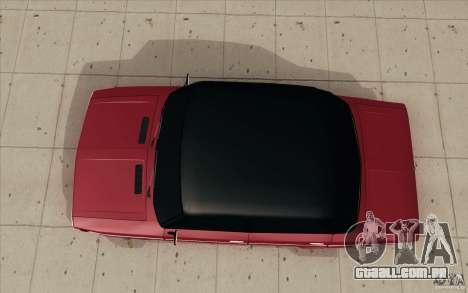 Lada VAZ 2106 para GTA San Andreas vista direita