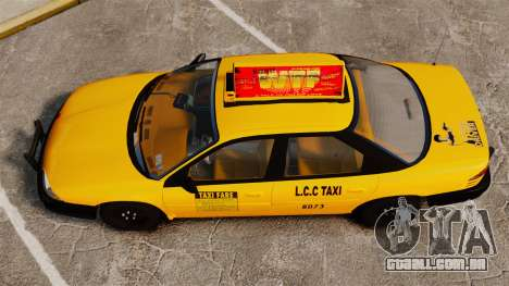 Dodge Intrepid 1993 Taxi para GTA 4 vista direita