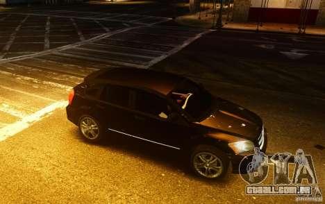 Dodge Caliber para GTA 4 vista direita