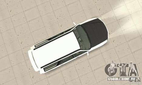 Nissan Stagea GTR para GTA San Andreas vista interior