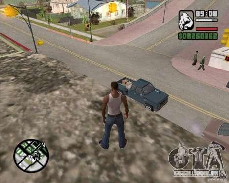 GTA 4 Anims for SAMP v2.0 para GTA San Andreas sexta tela