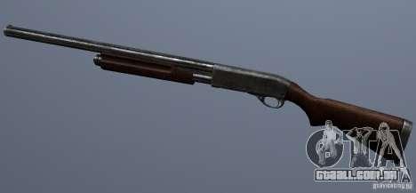 Remington 870AE Silver para GTA San Andreas terceira tela