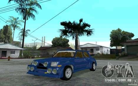 Renault 5 Maxi Turbo para GTA San Andreas