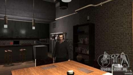 Caseira camisola com gola para GTA 4