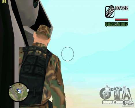U.S.M.C. Desant para GTA San Andreas por diante tela