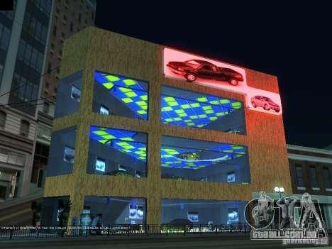 Novo showroom em San Fiero para GTA San Andreas
