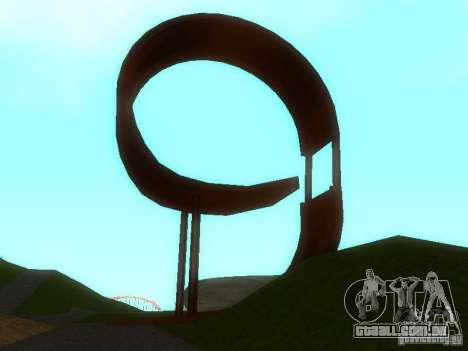 Ekstrimalov Park para GTA San Andreas quinto tela