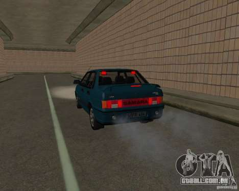 VAZ 21099 Suite para vista lateral GTA San Andreas