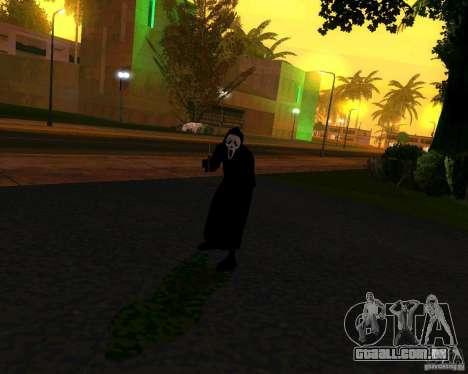 Grito (grito) para GTA San Andreas segunda tela