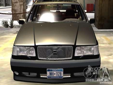 Volvo 850 R 1996 Rims 1 para GTA 4 vista inferior