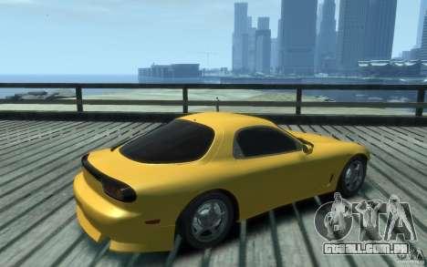 Mazda RX-7 v1 para GTA 4 vista direita