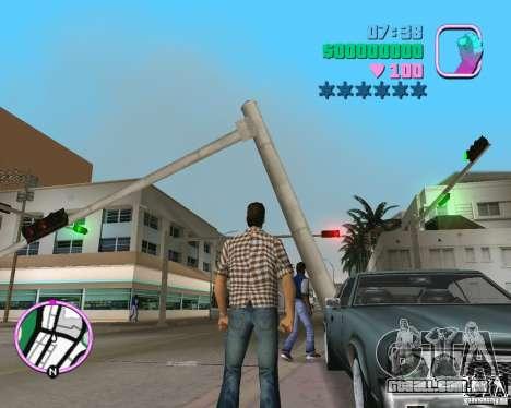 Novo Sabre para GTA Vice City vista direita