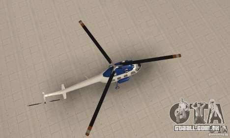 Mi-2 canais para GTA San Andreas vista direita