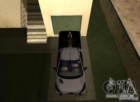 Peugeot Hoggar Escapade 2010 para GTA San Andreas vista traseira