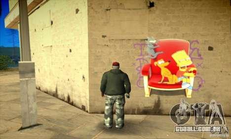 Simpson Graffiti Pack v2 para GTA San Andreas oitavo tela