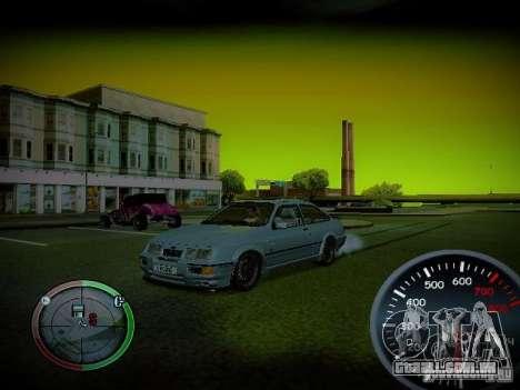 Velocímetro por Centrale v2 para GTA San Andreas