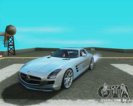 Mercedes-Benz SLS AMG 2010 v.1.0 para GTA San Andreas