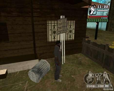 Caçador de casa v. 3.0 Final para GTA San Andreas sexta tela