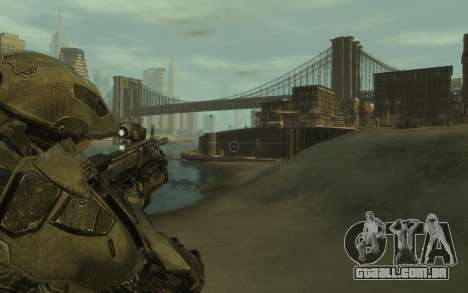 Halo 4 Master Chief para GTA 4 terceira tela