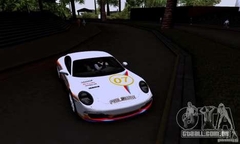 Porsche 911 Carrera S para vista lateral GTA San Andreas