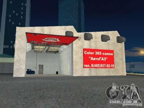 Gaz para GTA San Andreas quinto tela
