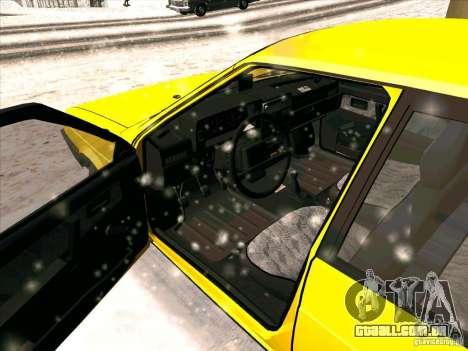 VAZ 21093i TMK Afterburner para GTA San Andreas esquerda vista