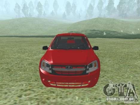 VAZ 2192 para GTA San Andreas esquerda vista