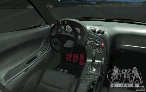 Mazda FD3S - Ebisu Style para GTA San Andreas vista superior