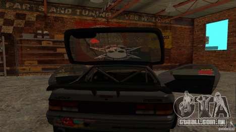 GTA Shift 2 Mazda RX-7 FC3S Speedhunters para GTA San Andreas vista direita