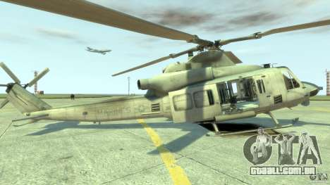 Bell UH-1Y Venom para GTA 4 esquerda vista