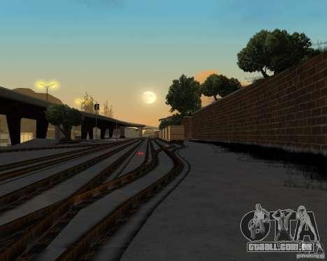 Nova estação ferroviária para GTA San Andreas por diante tela