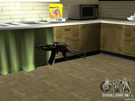 Pak versão doméstica de armas 2 para GTA San Andreas segunda tela