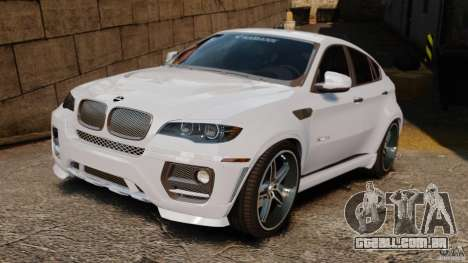 BMW X6 Hamann Evo22 no Carbon para GTA 4