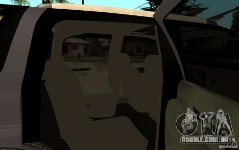 Cadillac Escalade pick up para GTA San Andreas vista direita