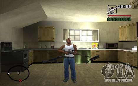 Espingarda Mosin para GTA San Andreas segunda tela