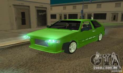 VAZ 2113 ADT Art Tuning para GTA San Andreas vista superior
