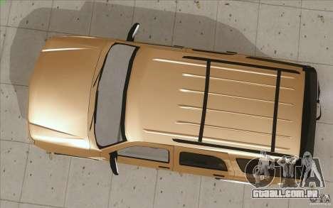 Cadillac Escalade 2004 para GTA San Andreas vista direita