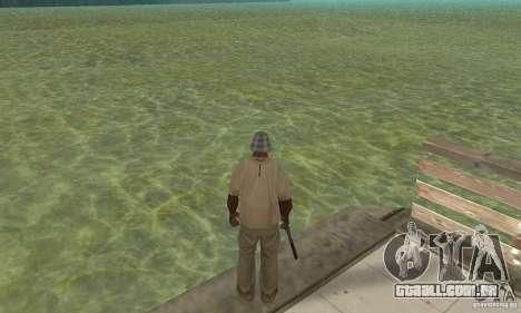 Tropic Water Mod para GTA San Andreas