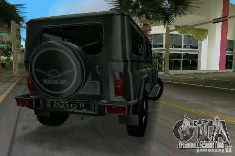 UAZ-3153 para GTA Vice City deixou vista