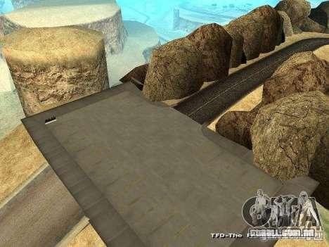 Downhill Drift para GTA San Andreas segunda tela