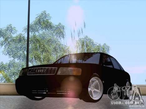 Audi 100 para GTA San Andreas vista direita